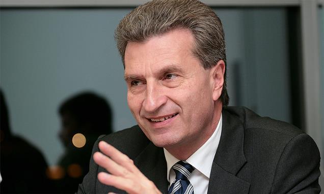 Gunther H Oettinger
